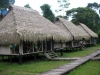 our huts in the Amazon